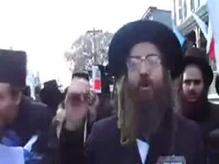 Jews protest against Israel and Zionism